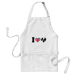 I Heart Arrow, Fun digital art Design Standard Apron