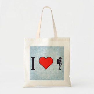 I Heart Artificial Intelligence Budget Tote Bag