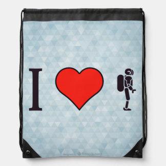 I Heart Artificial Intelligence Rucksacks