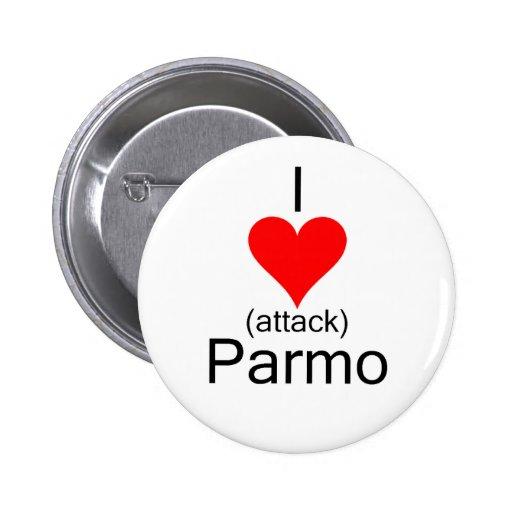 I Heart Attack Parmo Pin