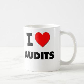 I Heart Audits Coffee Mugs