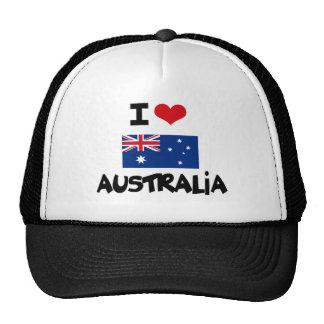 I HEART AUSTRALIA TRUCKER HAT
