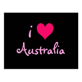 I Heart Australia Postcard