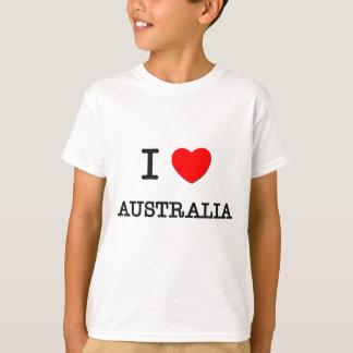 I HEART AUSTRALIA TEE SHIRTS