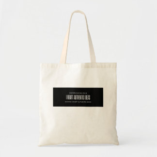 I Heart Authentic Ideas Tote Bag