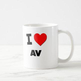 I Heart Av Coffee Mug