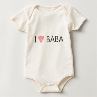 I HEART BABA BABY BODYSUIT