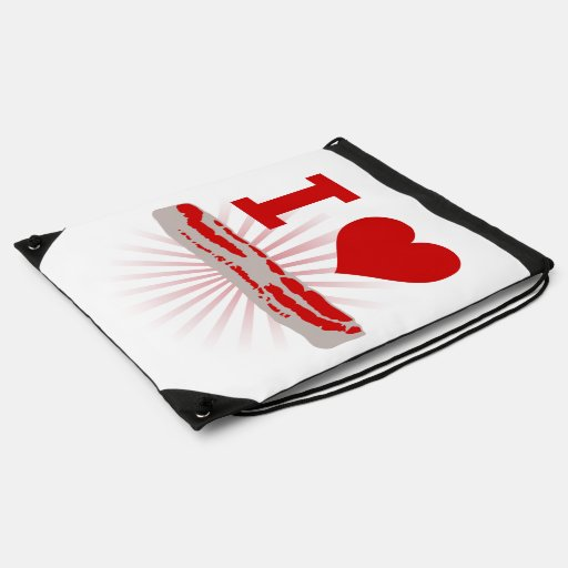 I Heart Bacon Backpacks