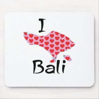 I heart Bali Mouse Pad