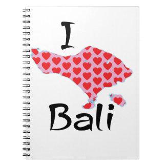 I heart Bali Notebook
