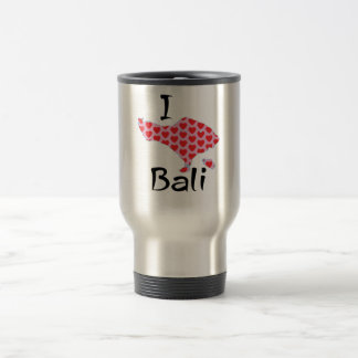 I heart Bali Travel Mug