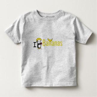 I Heart Banans Toddler T-Shirt