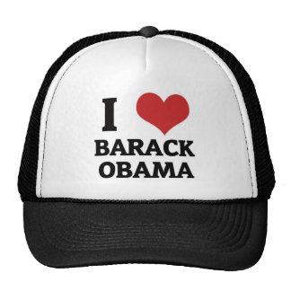 I heart Barack Obama Cap