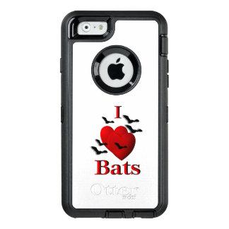 I Heart Bats OtterBox Defender iPhone Case