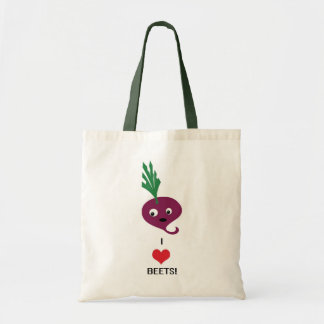 I Heart Beets tote bag