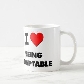 I Heart Being Adaptable Basic White Mug