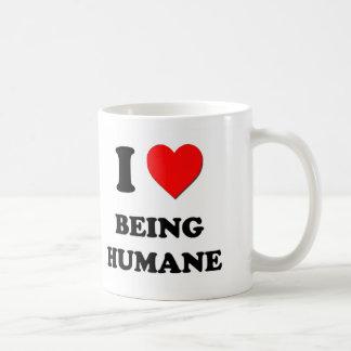 I Heart Being Humane Mug