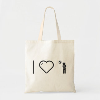 I Heart Being Ills Budget Tote Bag