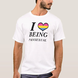 I Heart Being Pansexual T-Shirt