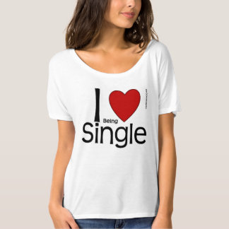 I Heart Being Single Shirt