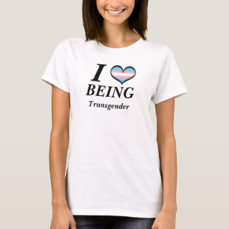 I Heart Being Transgender T-Shirt