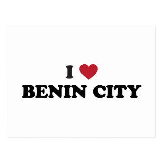 I Heart Benin City Nigeria Postcard