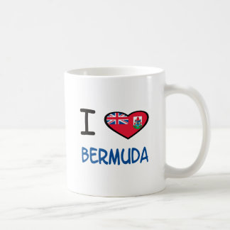 I Heart Bermuda Coffee Mug