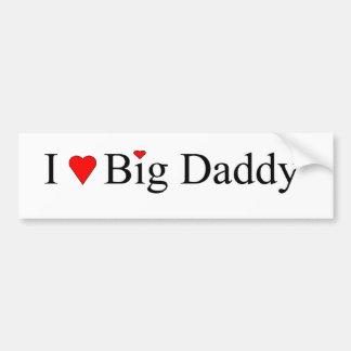 I Heart Big Daddy Bumper Sticker