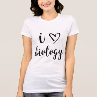 I Heart Biology Shirt