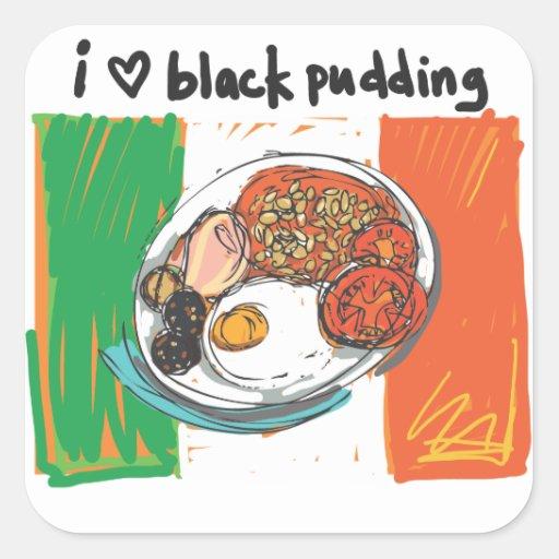 i heart black pudding! sticker