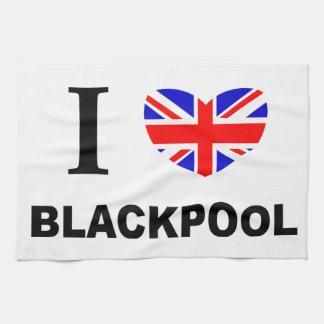 I Heart Blackpool. Tea Towel