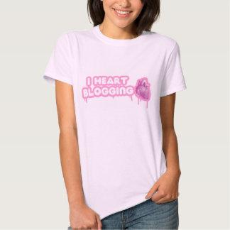 I Heart Blogging T-shirt