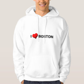 I Heart Boston Hoodie