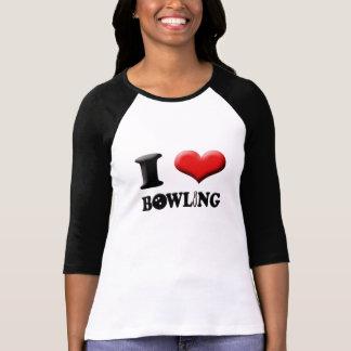 I Heart Bowling Tee