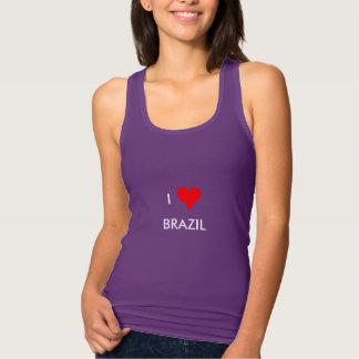 i heart brazil singlet