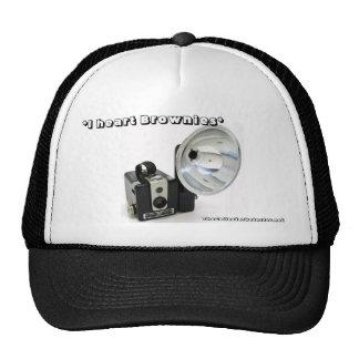 I heart Brownies Hawkeye Camera Trucker Cap Trucker Hats