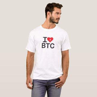 I Heart BTC (Bitcoin) Shirt