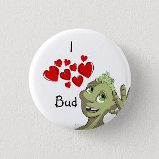 I (heart) Bud 3 Cm Round Badge
