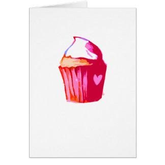i heart cake Card