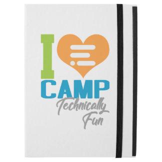 I heart camp ipad pro case