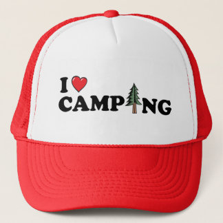 I Heart Camping Pine Hat