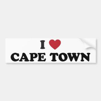 i Heart Cape Town South Africa Bumper Sticker