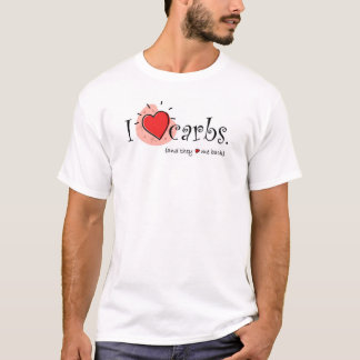 I Heart Carbs - Higher up graphic T-Shirt