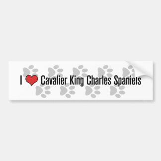 I (heart) Cavaliers Bumper Sticker