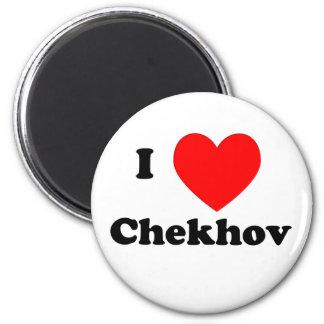 I Heart Chekhov 6 Cm Round Magnet