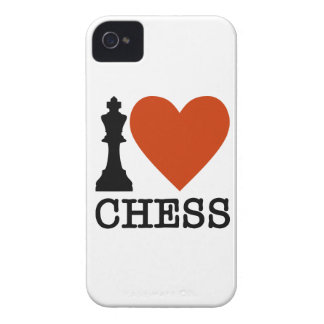 I Heart Chess Case-Mate iPhone 4 Case