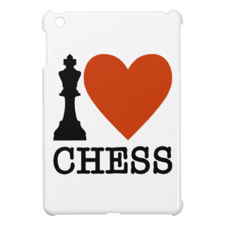 I Heart Chess iPad Mini Cover