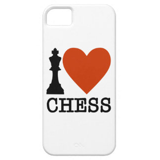 I Heart Chess iPhone 5 Covers