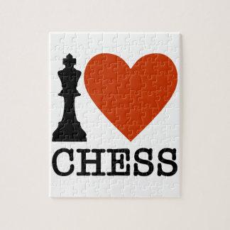 I Heart Chess Jigsaw Puzzle