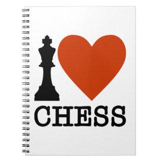 I Heart Chess Notebook